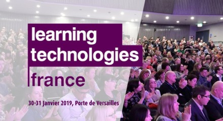 affiche salon learning technologies france